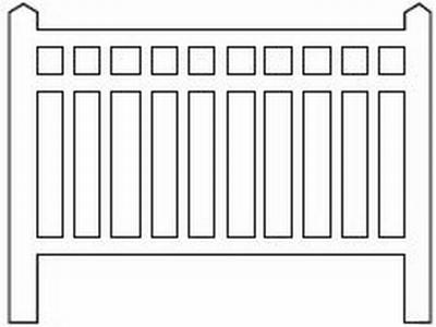 Barrières béton 96 type Est