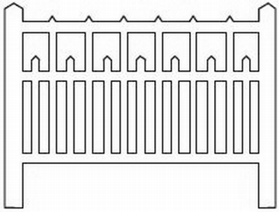 Barrières béton 90 type unifié