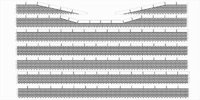 Bordures de quai briques avec descentes