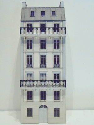 Immeuble fond de décor 6 étages 101