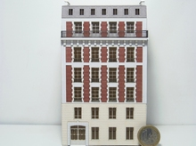 Immeuble fond de décor 6 étages 611