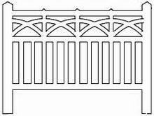 Barrières béton 92 type PLM