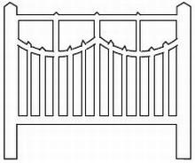 Barrières béton 110 type unifié