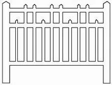 Barrières béton 98 type Est