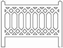 Barrières béton 101 type PLM