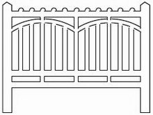 Barrières béton 116 type Est