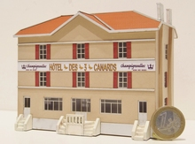 Hôtel « Les 3 Canards » de Jussey