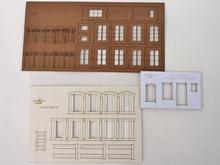 Planche d'huisseries n°1 + parements + gabarit de découpe