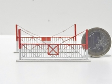 Barrières pivotantes 2 vantaux pour PN type CFD « Intres »